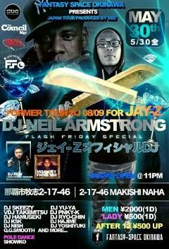 5/30 - DJNA at Fantasy Space Okinawa