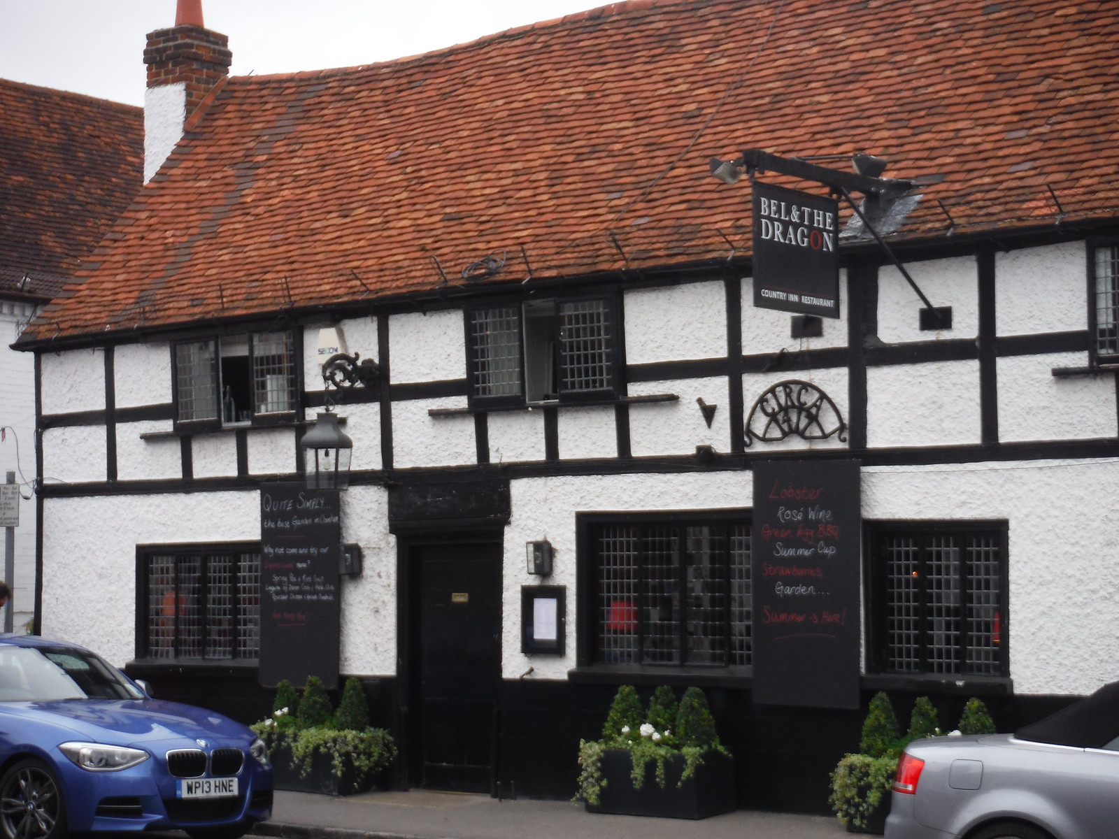 One of 6 Pubs en-route in Cookham SWC Walk 189 Beeches Way: West Drayton to Cookham