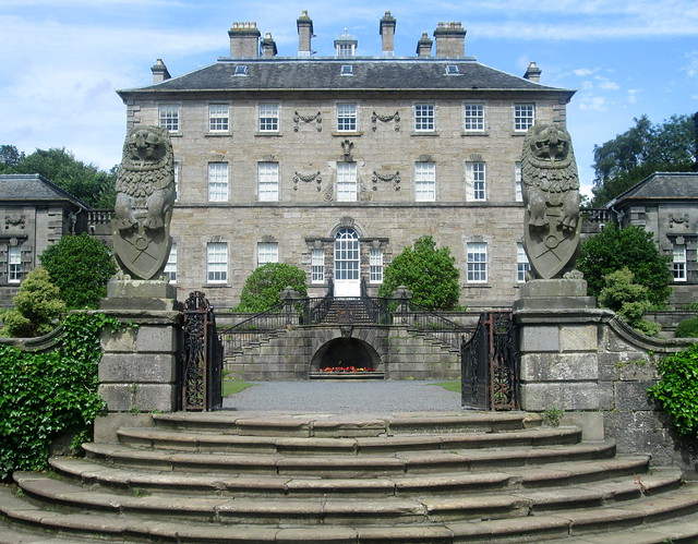 Pollok House  garden entrance