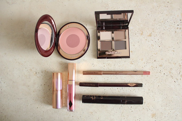 charlotte tilbury the sophisticate look set review and swatches