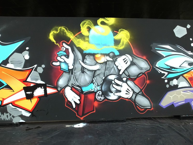 Street art at Breakin The Bay