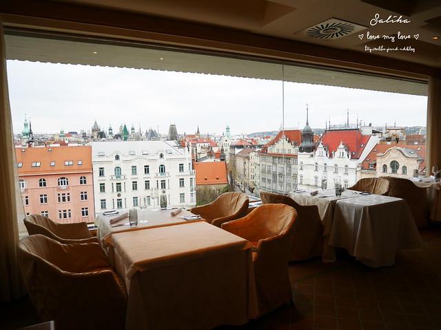 布拉格夜景景觀餐廳推薦洲際酒店晚餐 (10)