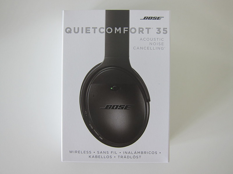 Bose QC35 - Box Front