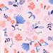 Tropical Butterfly Garden hero print by zesti