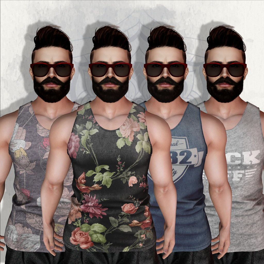 EmilyC [men] Shirt Casper TMP Slink - SecondLifeHub.com