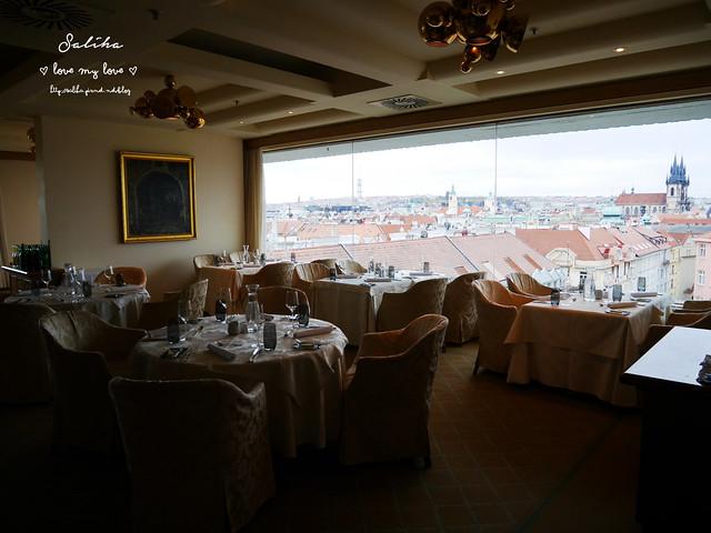 布拉格夜景景觀餐廳推薦洲際酒店晚餐 (3)