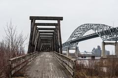 Interstate and Blatnik Bridges, Rice's Point, Duluth