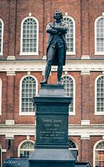 Samuel Adams' monument - Boston