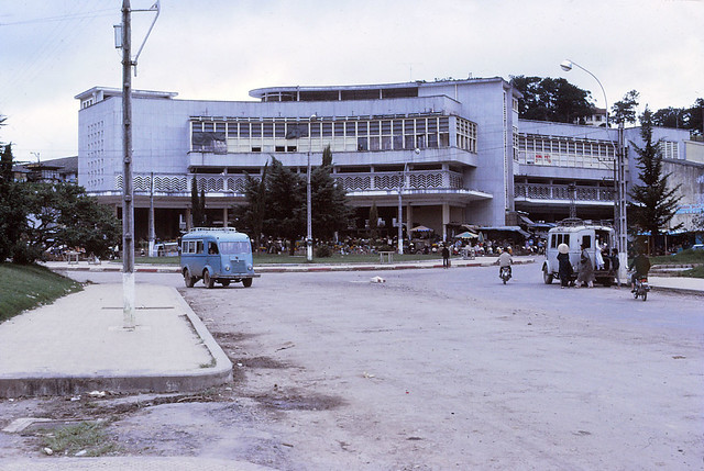 Dalat Market - 1970