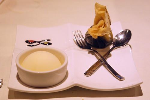 西堤素食套餐--甜點