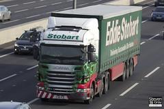 Scania R440 6x2 Tractor - PJ10 VJC - Mary Elizabeth - Eddie Stobart - M1 J10 Luton - Steven Gray - IMG_3342
