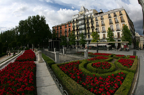 AA Madrid near the park and Palace