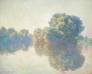 El Sena en Giverny, de Monet.