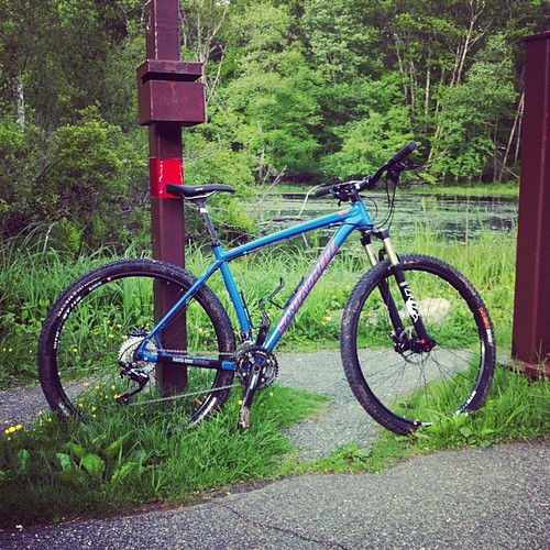 the 29er: finally at home on a mtb!