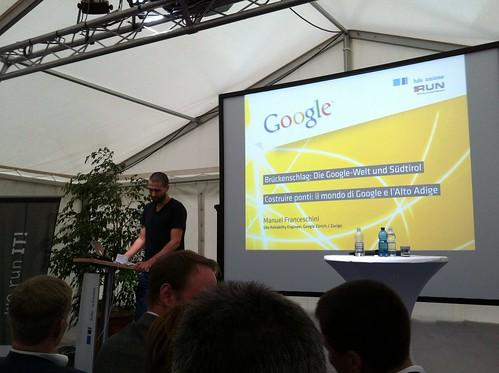 Manuel Franceschini, Google Zürich - HDS Tag der Dienstleister