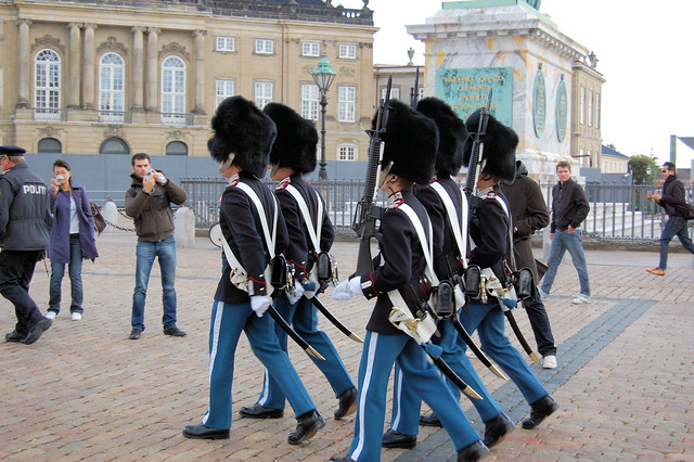 Header of Amalienborg