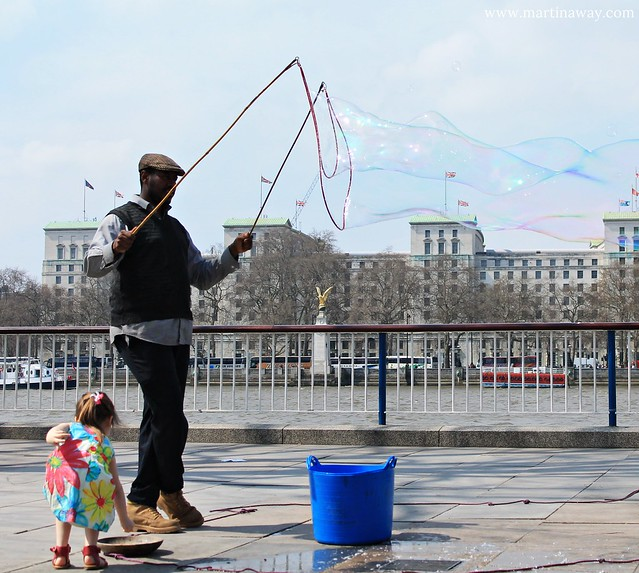 Bubbles in South Bank
