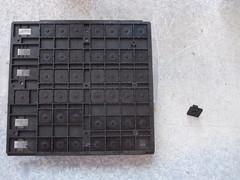 Keyboard frame