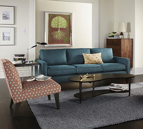 Jewel Tone Sofas at Room & Board