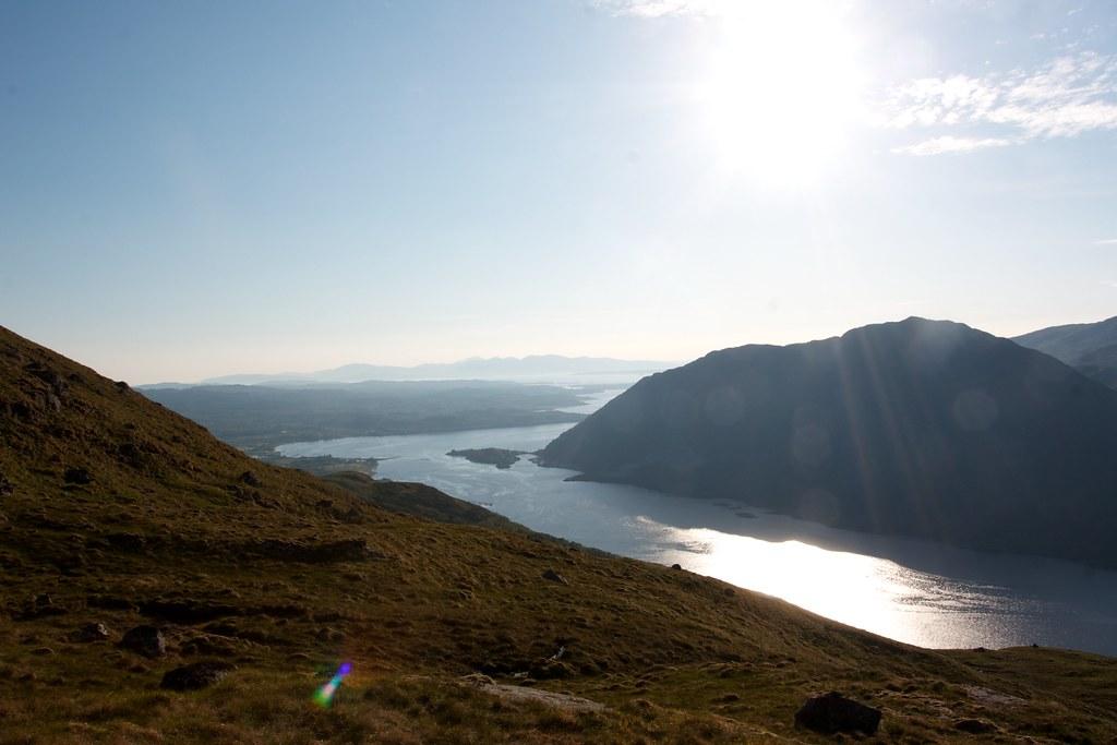 Sunlight over Loch Etive