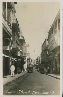 Luna Street, San Juan, P.R.