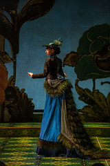 Nikka Graff Lanzarone (Peacock) in Tony Award winner Mary Zimmerman's new musical adaption of THE JUNGLE BOOK, photo: Liz Lauren