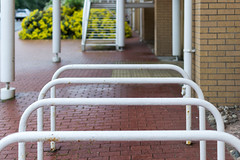 Bicycle Racks and Stairs