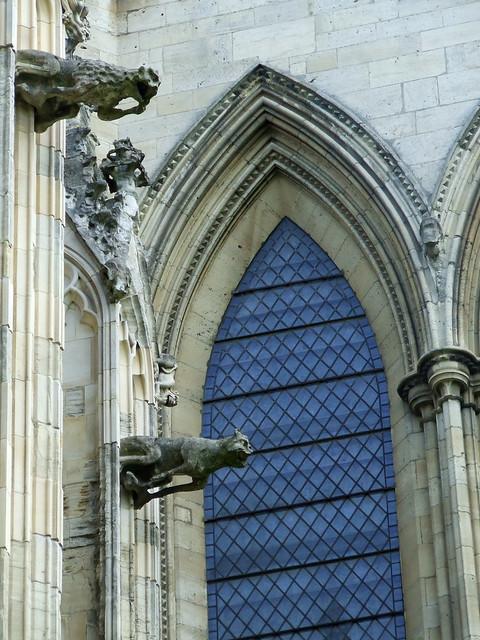 York Minster gargoyles