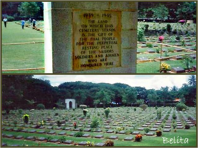 cemetery- KWAI TOWN - THAILAND