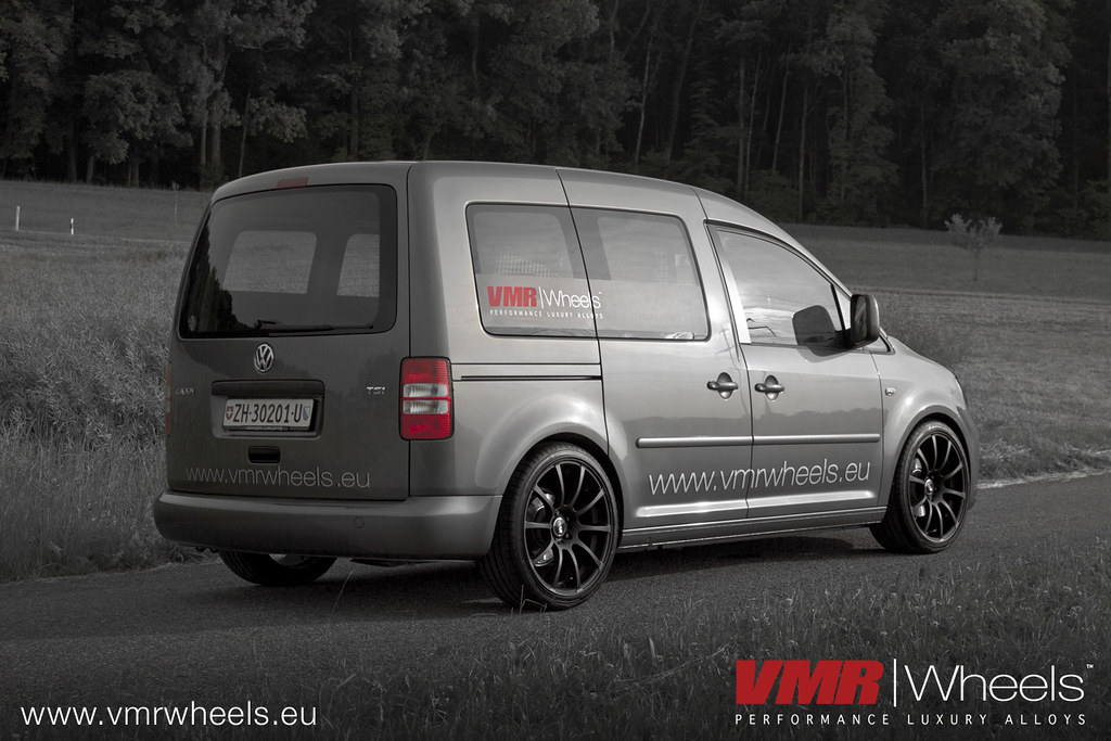 vmr wheels v701 matte black vw caddy 1 2 tsi a photo. Black Bedroom Furniture Sets. Home Design Ideas
