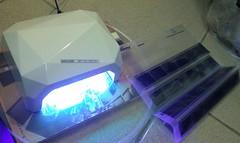 紫外線曝曬利器–美甲機