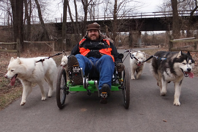 WooFDriver On Tour - Schuylkill River Trail, Philadelphia PA 2.15.2012