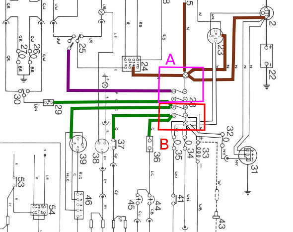 land rover series 2a wiring diagram negative earth mickyhop