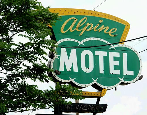 Alpine Motel, US 12, Inkster, Michigan