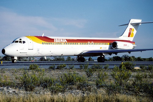 Iberia McDonnell-Douglas MD-87 (EC-EXG/1706/49833)