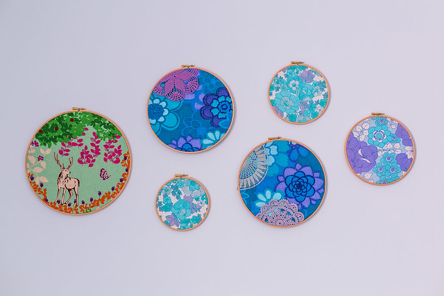 Embroidery hoops update
