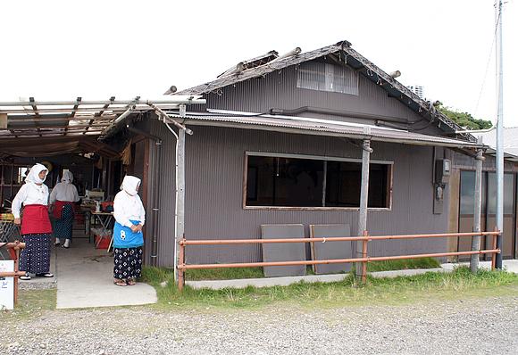 日本海女表演26