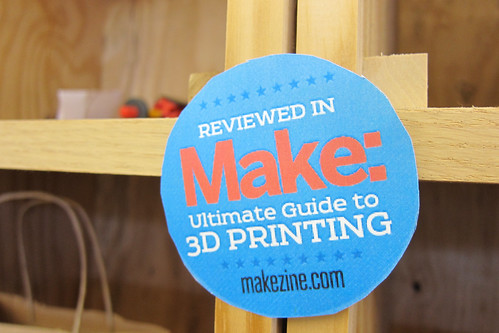 Make Magazine 3D Printer Shootout Weekend