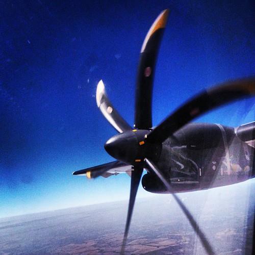 Voando no ATR72 #atr #atr72 #airplane #fly #propeller