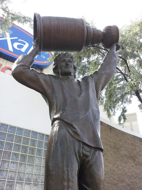 The Great One in Edmonton