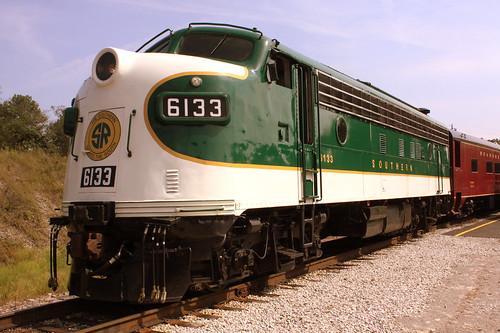 TVRM Railfest 2013: Southern FP7 #6133