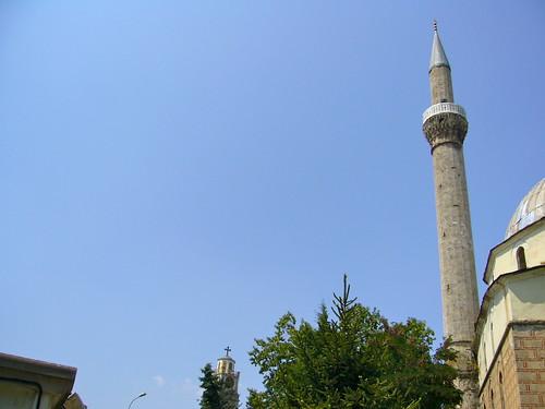 minaret & clocher