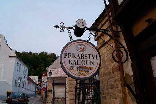 Bakery in town Hluboká nad Vltavou