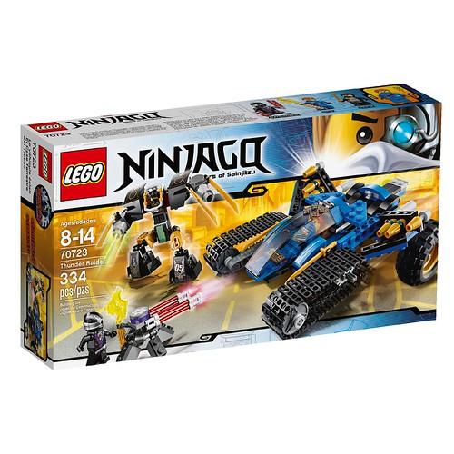 LEGO Ninjago Thunder Raider 70723 Box