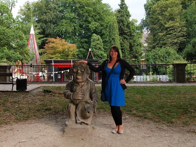 Dwarf Garden at Mirabell Gardens in Salzburg