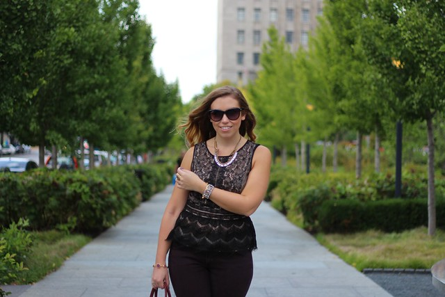 Living After Midnite: Exploring St. Louis in Loft, JC Penney, Michael Kors & Sole Society