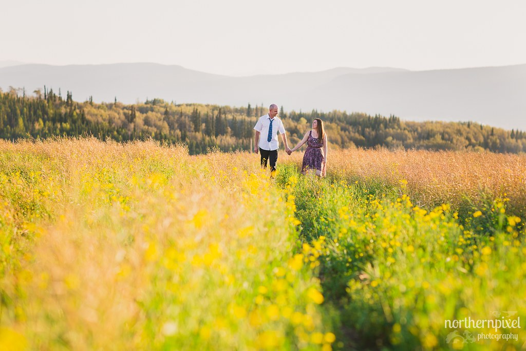 Engagement Session Smithers British Columbia Photographer