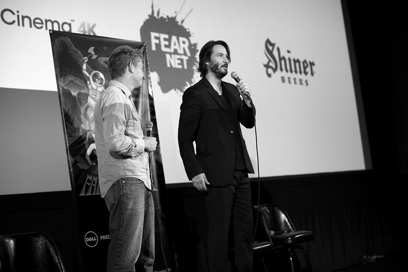 "Keanu Reeves ""Man of Tai Chi"" Q&A, Fantastic Fest"