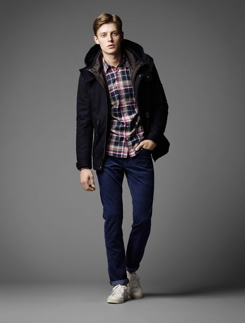 Janis Ancens0026_BURBERRY BLACK LABEL AW13