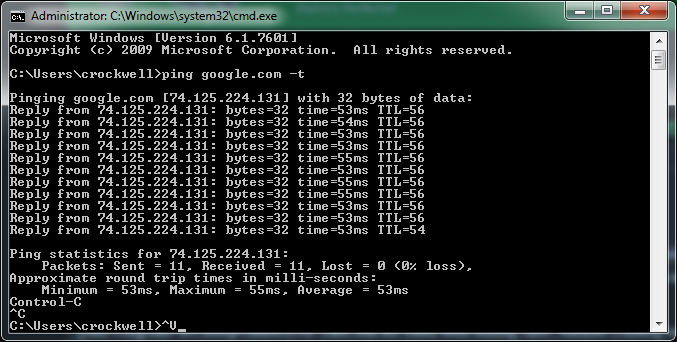 Troubleshooting High Ping Times, Latency, Connection Issues